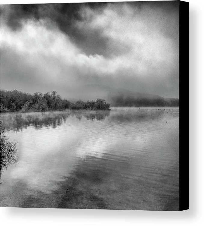 Mono Canvas Print featuring the photograph Looking For Dreams by Guido Montanes Castillo