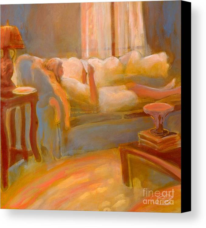 Love Canvas Print featuring the painting Love Letter by Kip Decker