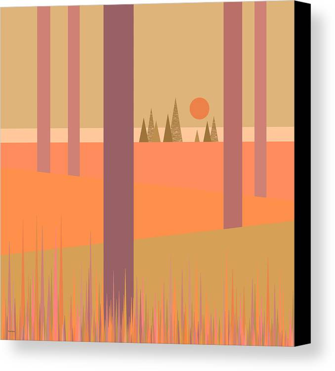 May Morning Canvas Print featuring the digital art May Morning by Val Arie