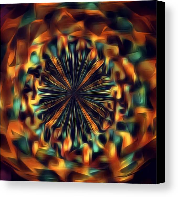 Abstractor Canvas Print featuring the digital art Mix It Up by Jenn Teel