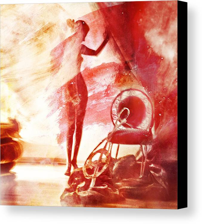 Mark Meir Paluksht Canvas Print featuring the photograph Red Blues by Mark-Meir Paluksht