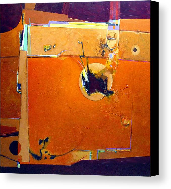 Abstract Canvas Print featuring the painting Stimulus by Dale Witherow