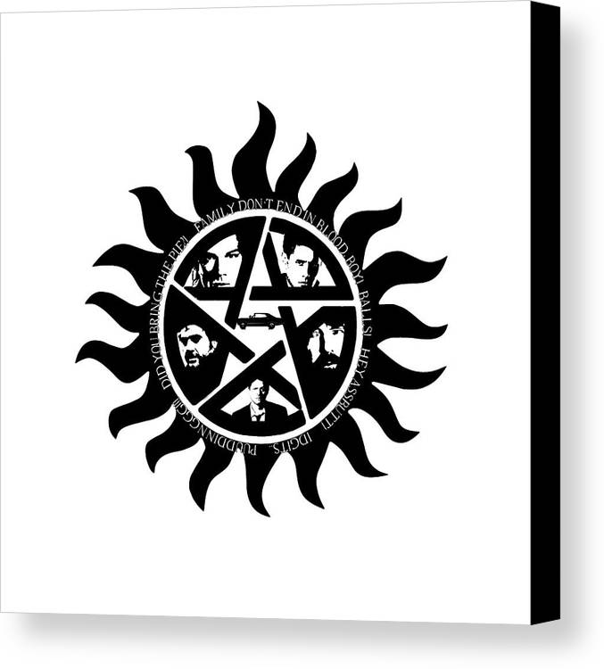The Ultimate Anti Demon Gear Canvas Print Canvas Art By Cj Hartley