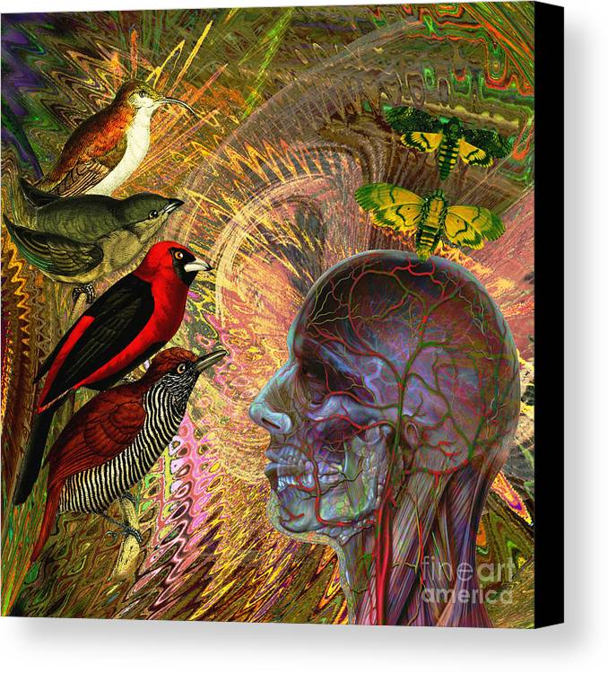 Climate Change Canvas Print featuring the digital art We've Notice A Change In You by Joseph Mosley