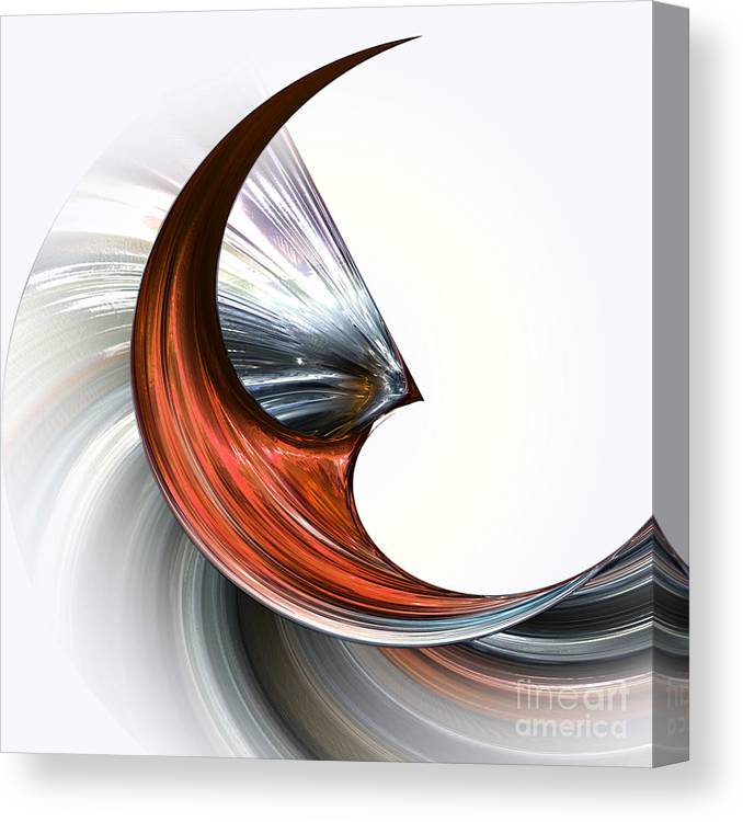 Sequence Canvas Print featuring the digital art Drive by Diuno Ashlee
