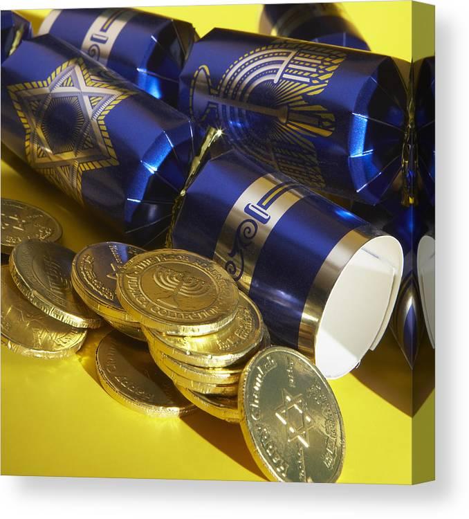 Chocolate Coins Canvas Print