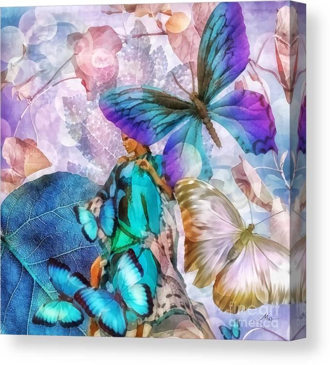 Metamorphosis Canvas Print featuring the painting Metamorphosis by Mo T