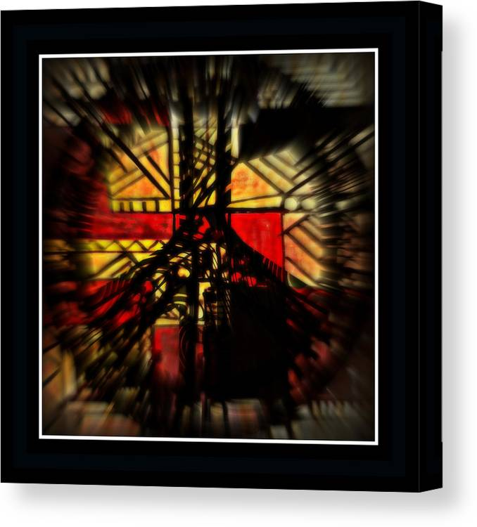 Peace Canvas Print featuring the mixed media Peace Series Xx by Wendie Busig-Kohn