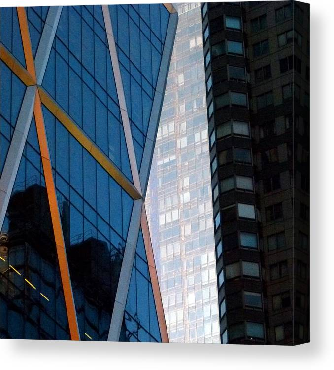 Architecture Canvas Print featuring the photograph Test Image 1 by Peter Rosenstein