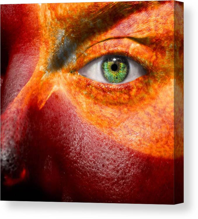 Art Canvas Print featuring the photograph Hot by Semmick Photo