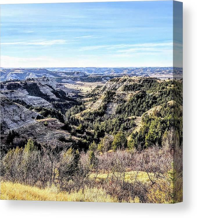 Landscape Canvas Print featuring the photograph Landscape by Justin Parkinson