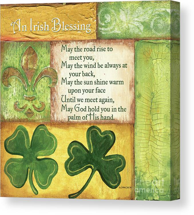 Irish Blessing Canvas Prints | Fine Art America