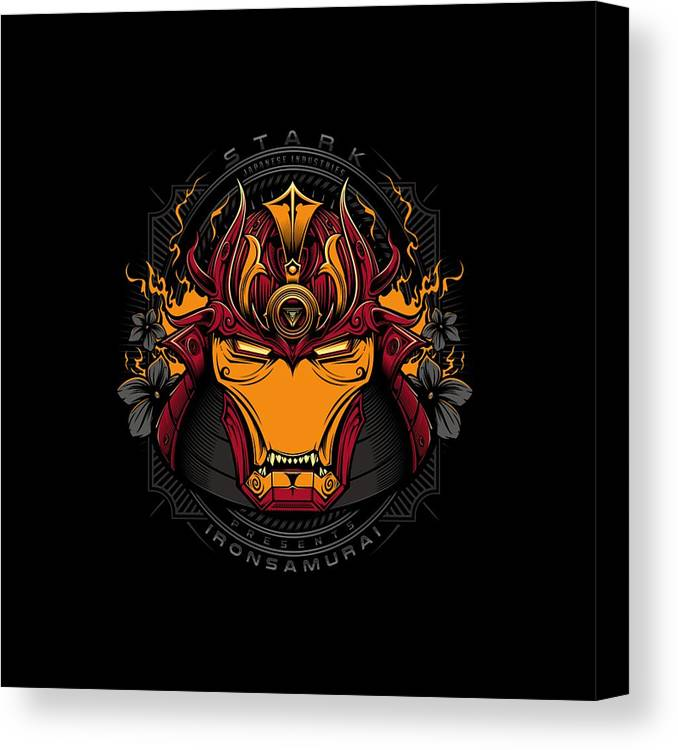 Iron Canvas Print featuring the drawing Art Of Iron by Erick Paulus