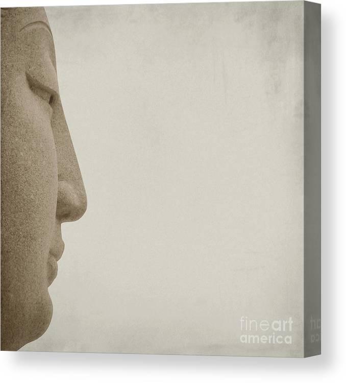 Buddha Canvas Print featuring the photograph Buddha by MingTa Li