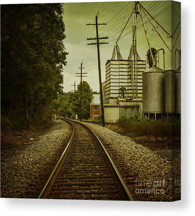 Train Canvas Print featuring the photograph Endless Journey by Andrew Paranavitana