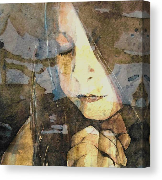 Prayer Canvas Print featuring the painting I Say A Little Prayer by Paul Lovering
