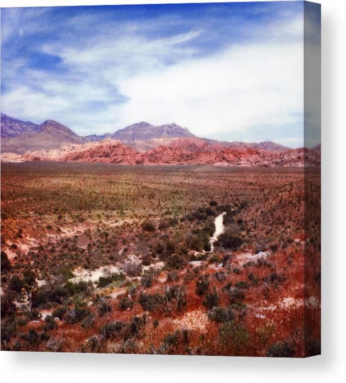 Paul Tokarski Canvas Print featuring the photograph Red Rock by Paul Tokarski