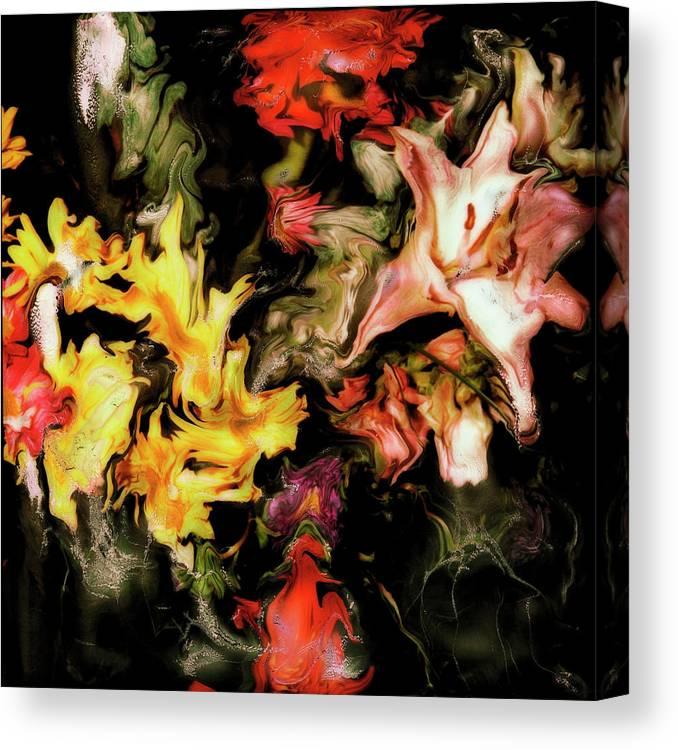 Paul Tokarski Canvas Print featuring the photograph Rhythms And Hues by Paul Tokarski