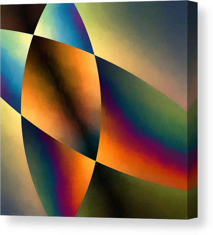 Abstract Canvas Print featuring the digital art Venus by Jon Woodhams