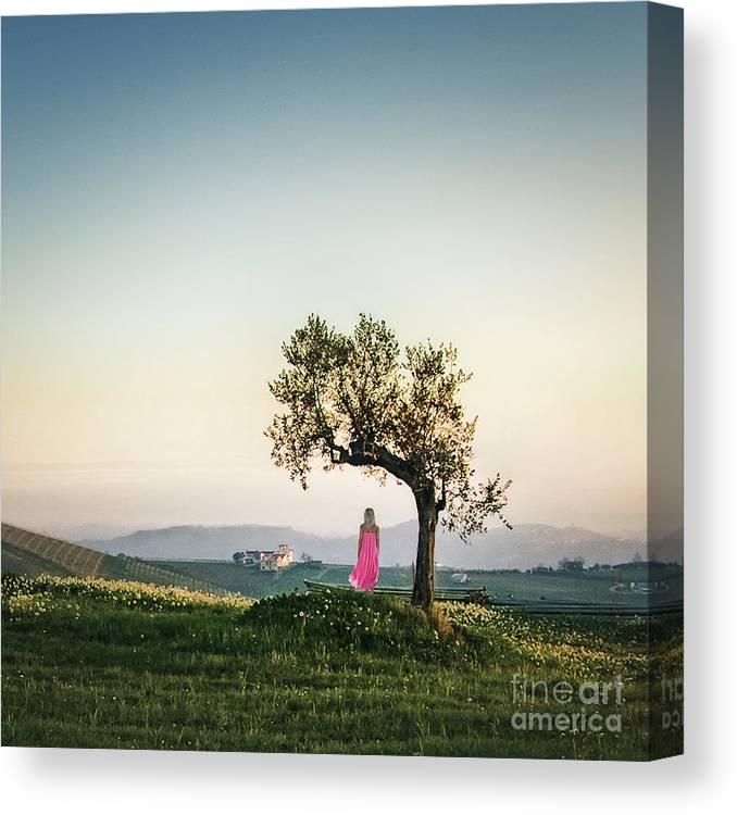 Kremsdorf Canvas Print featuring the photograph As I Survey The Wonderous... by Evelina Kremsdorf