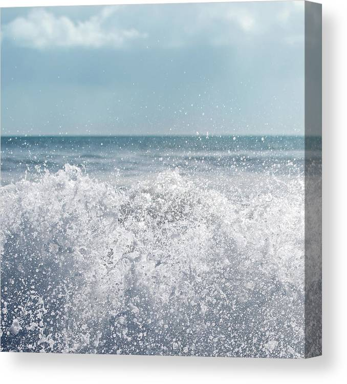 Outdoors Canvas Print featuring the photograph Big Wave by Kelly Bowden