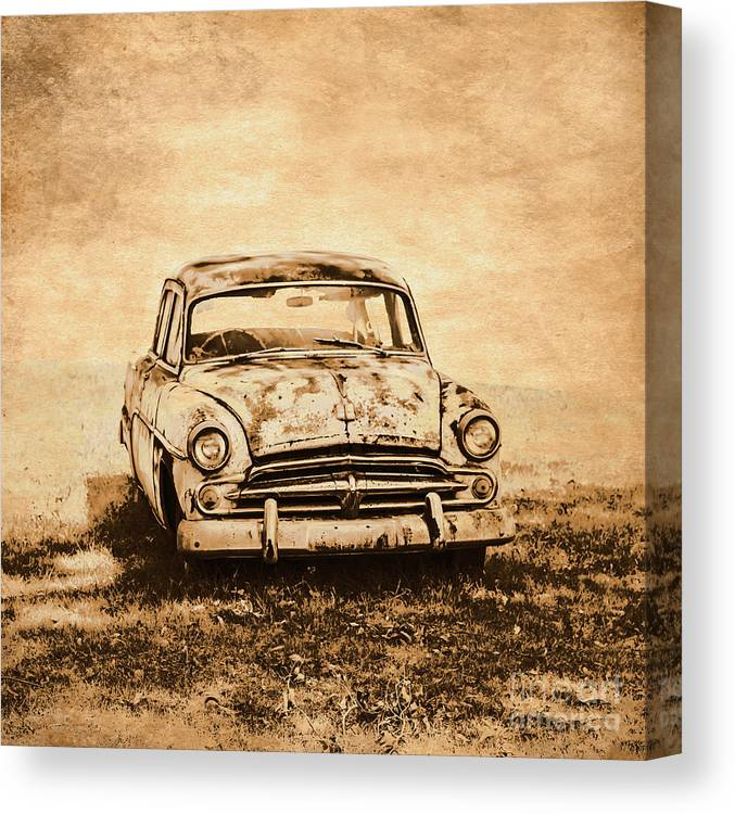 Old Canvas Print featuring the photograph Rockabilly Relic by Jorgo Photography - Wall Art Gallery