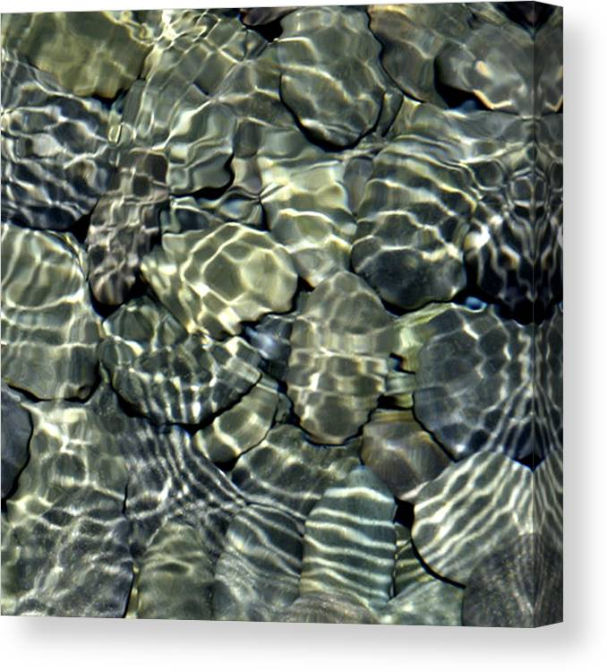 Water Canvas Print featuring the photograph Water Rocks 2 by Andre Aleksis