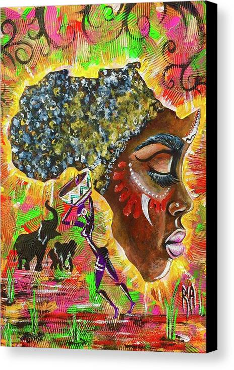 Africa by Artist RiA