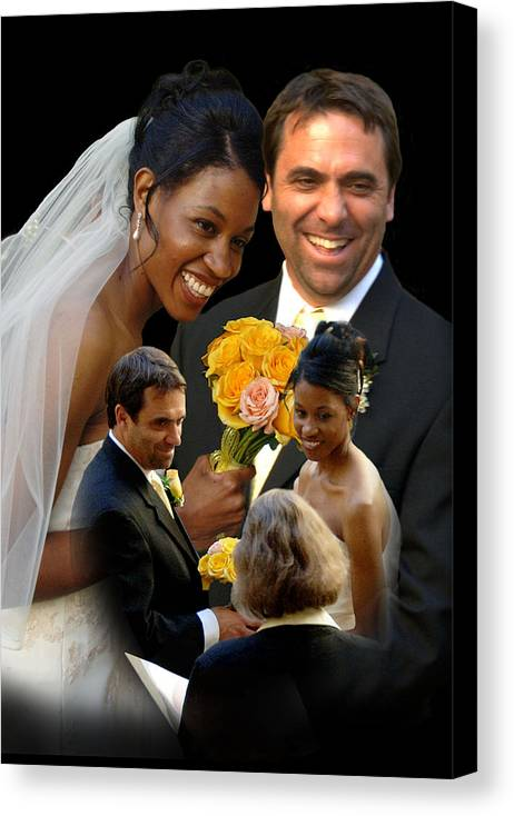 People Canvas Print featuring the photograph Joy by Richard Gordon
