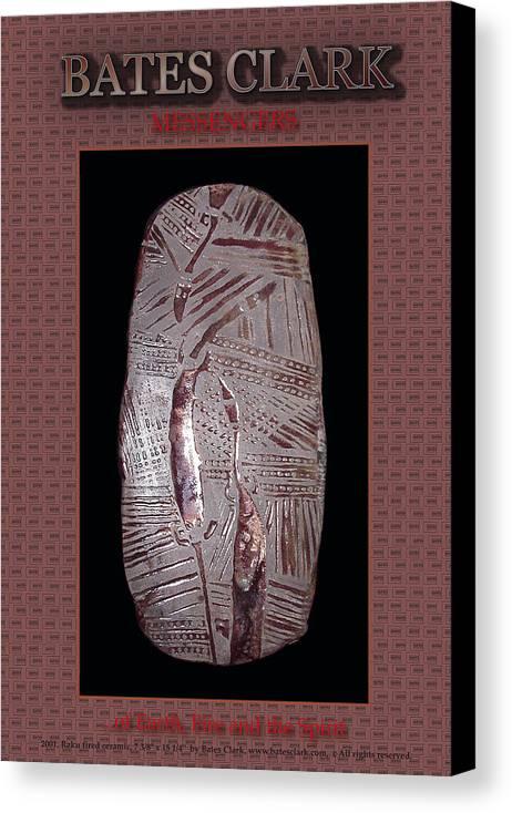 Giclee Print Canvas Print featuring the digital art Messengers by Bates Clark