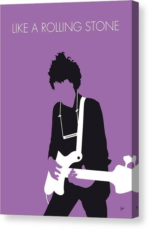 No001 MY BOB DYLAN Minimal Music poster by Chungkong Art