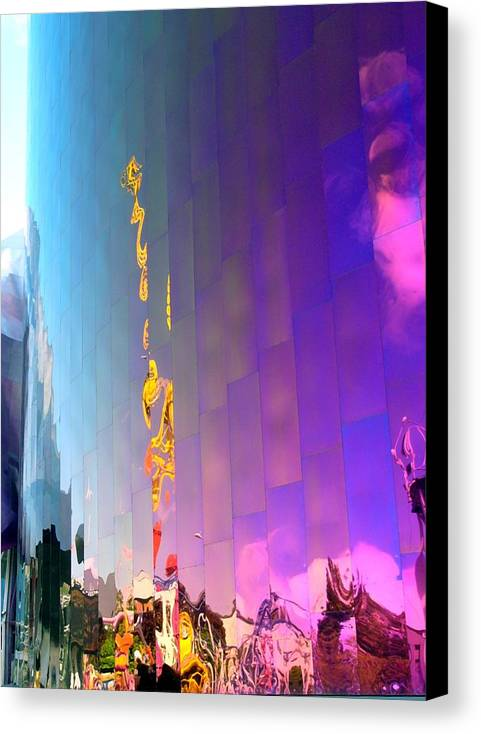Architect Canvas Print featuring the photograph Reflection by Kenna Westerman