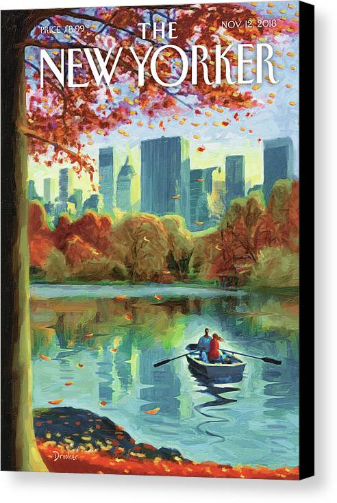 Autumn Central Park by Eric Drooker