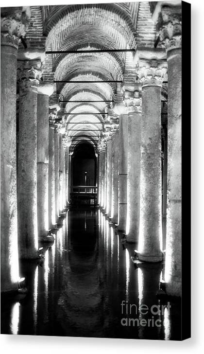 Follow The Lights Canvas Print featuring the photograph Follow The Lights by John Rizzuto