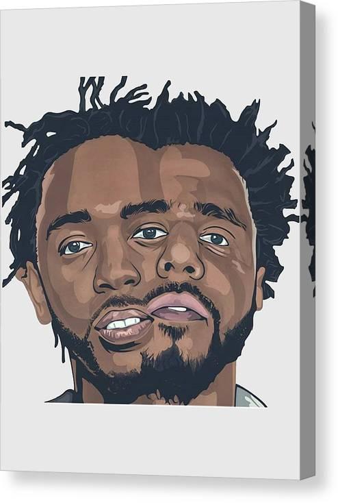J Cole and Kendrick by Alejandro Puello