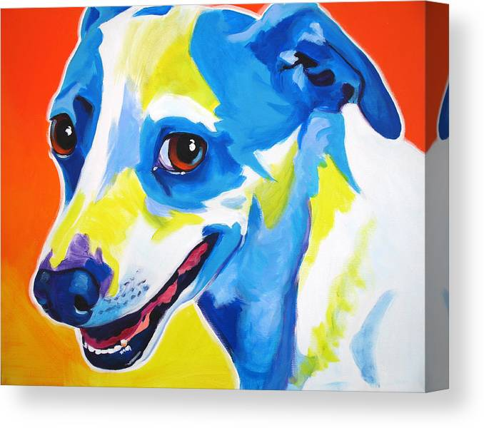 Jack Russell Skippy Canvas Print Canvas Art By Alicia Vannoy Call