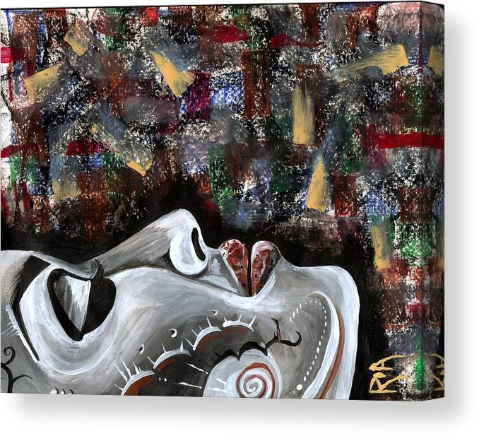 Art Canvas Print featuring the photograph Peace Amidst Turmoil by Artist RiA