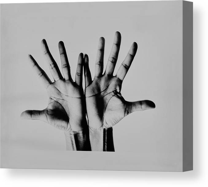 Personality Canvas Print featuring the photograph Pearl Bailey's Hands by Bert Stern