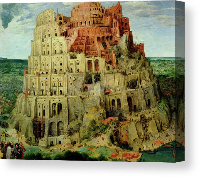 The Tower Of Babel Canvas Print Canvas Art By Pieter Bruegel The Elder