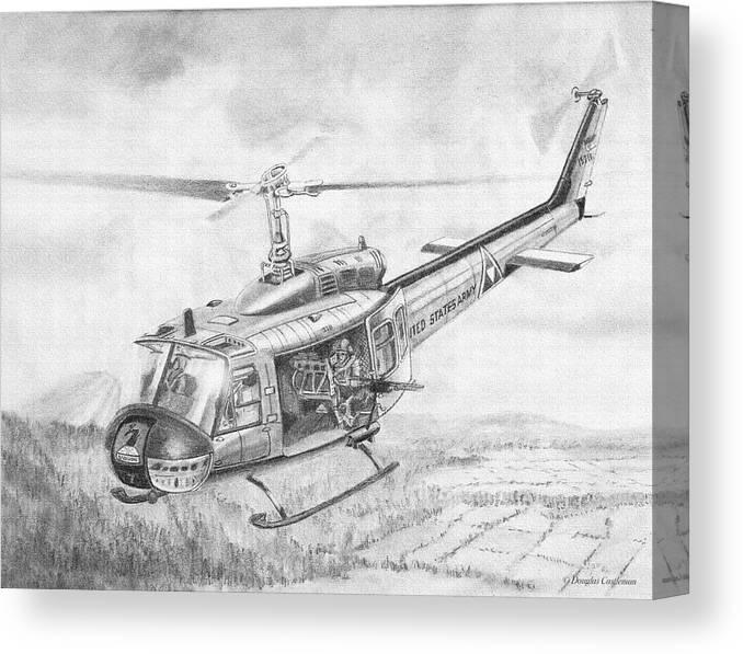 Huey In Vietnam Canvas Print Canvas Art By Douglas Castleman