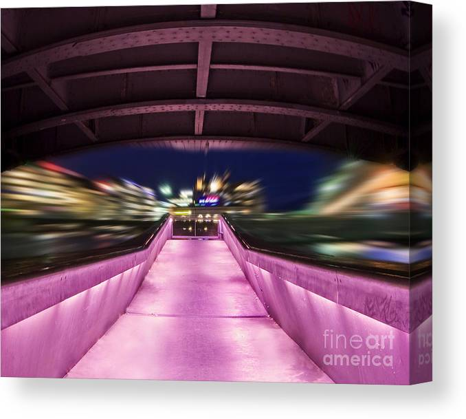 Geneva Canvas Print featuring the photograph Life Under the City in Geneva by Chris Smith