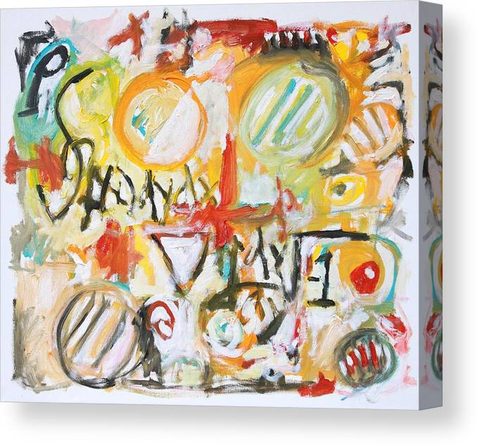 Math Canvas Print featuring the painting Math by Michael Henderson