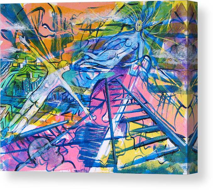 Dream Canvas Print featuring the painting More Than A Dream by Rollin Kocsis