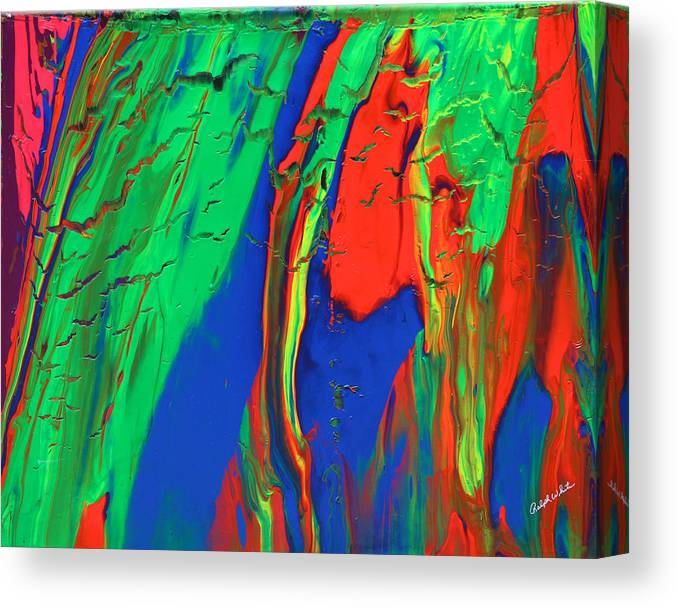 Fusionart Canvas Print featuring the painting The Escape by Ralph White
