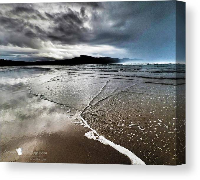 Beach Canvas Print featuring the photograph Two Skies by Stephanie McGuire