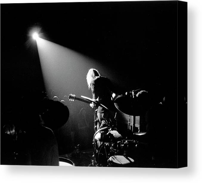 People Canvas Print featuring the photograph The Allman Brothers In South Carolina by Michael Ochs Archives