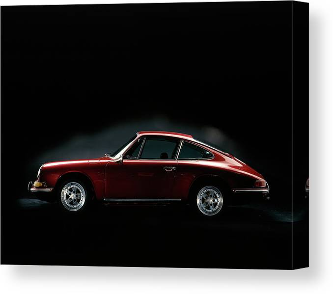 Aerodynamic Canvas Print featuring the photograph 1967 Porsche 911 by Heritage Images