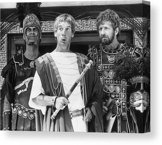 Tunisia Canvas Print featuring the photograph Biggus Dickus by Evening Standard