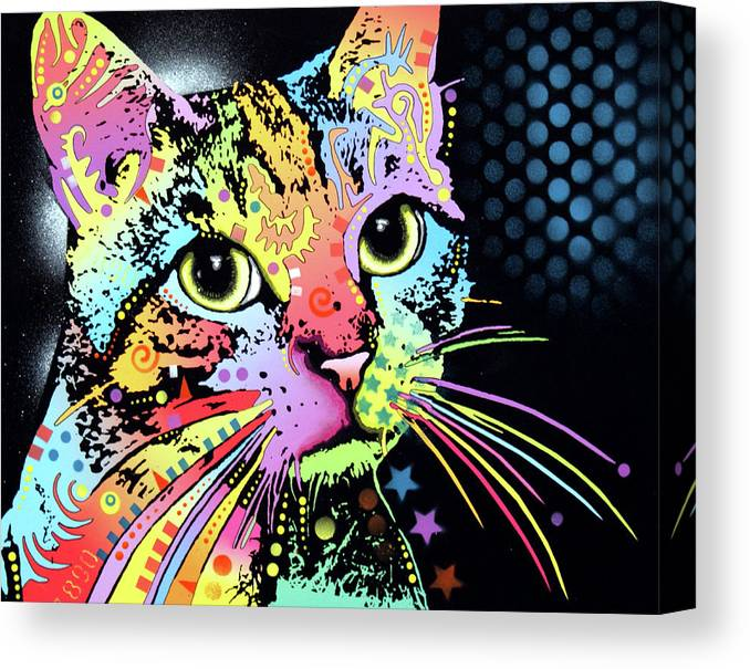 Catillac New Canvas Print featuring the mixed media Catillac New by Dean Russo