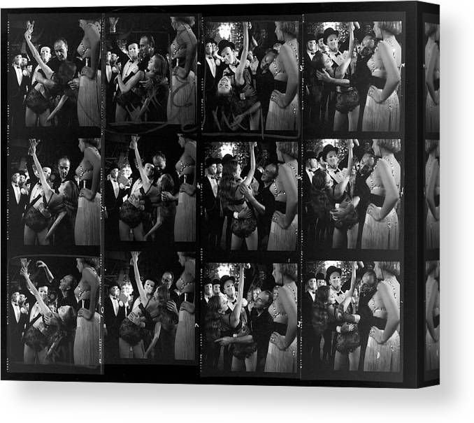Working Canvas Print featuring the photograph Choereographer George Balanchine by Gordon Parks
